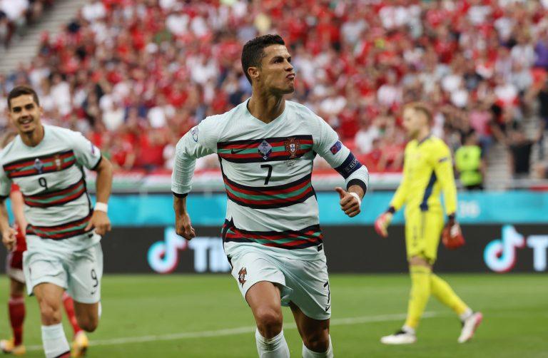 CR7 brilló en el debut de Portugal en la Euro 2020