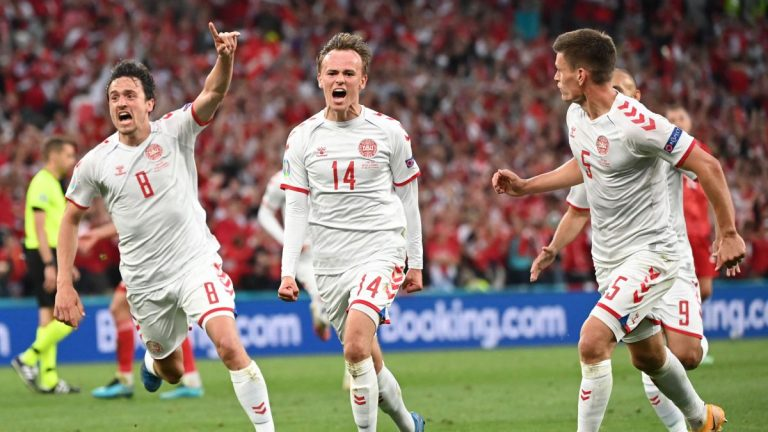 Dinamarca avanzó y Rusia quedó eliminado de la Euro 2020