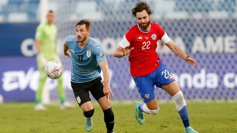 División de puntos entre Uruguay y Chile en Cuiabá
