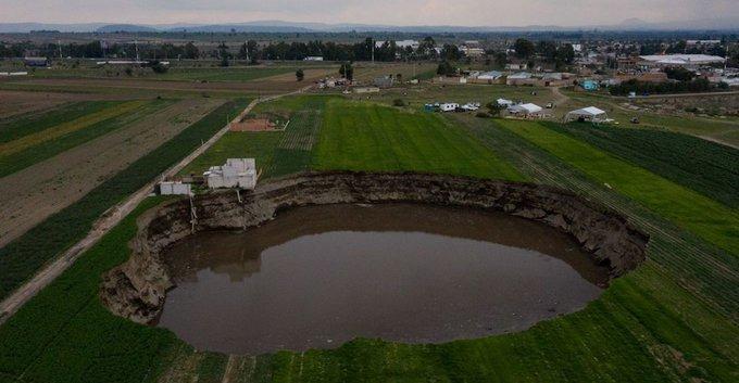 Se deslinda IPN de estudio sobre socavón en Puebla