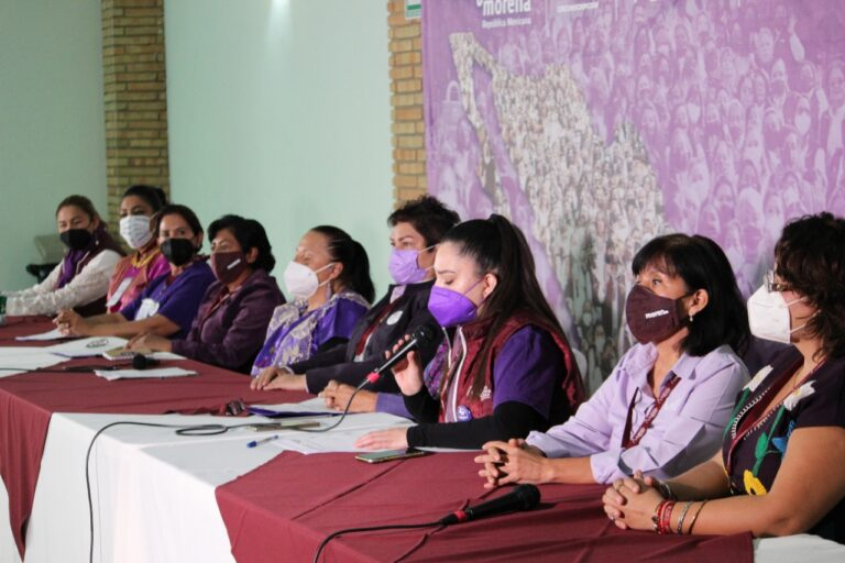 Va Mujeres Morena República contra violencia política de género
