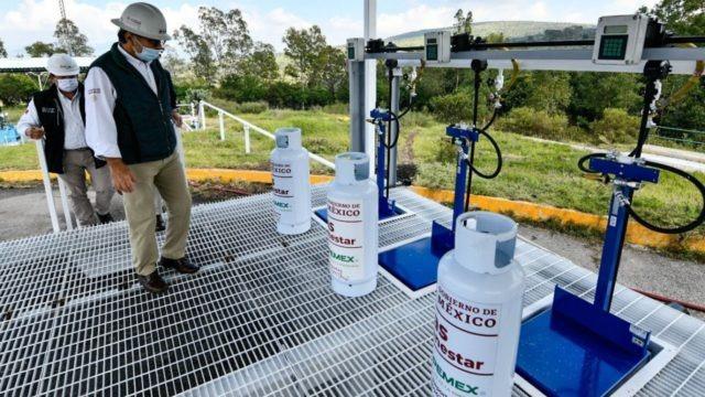 Prepara Pemex primer lote de cilindros de Gas Bienestar