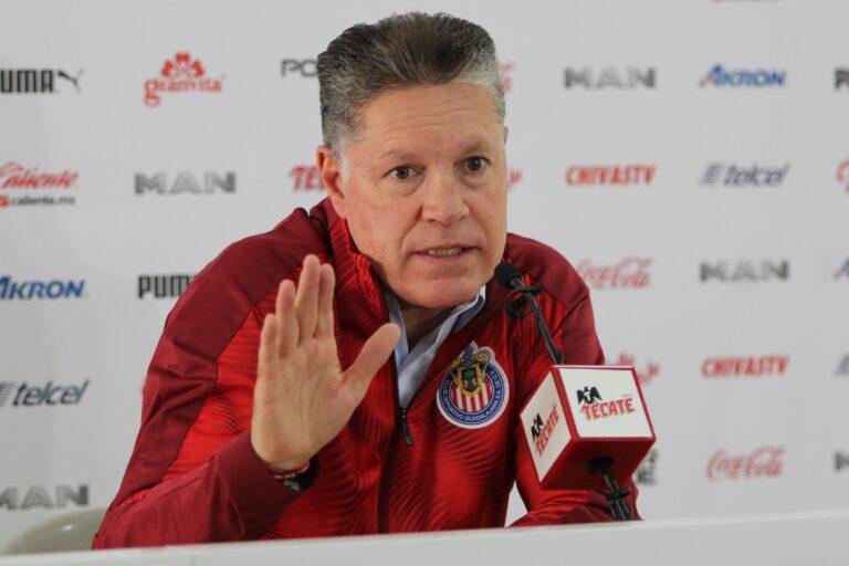 Ricardo Peláez admitió que Chivas pasa por un mal momento