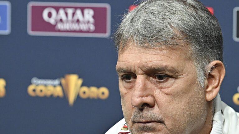 «Tuvimos grandes momentos del partido, no debería ser ninguna catástrofe», Gerardo Martino