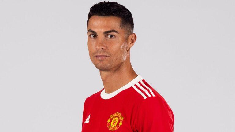 Cristiano Ronaldo ya entrenó con el Manchester United