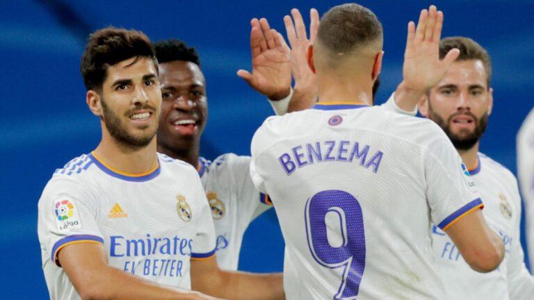 Real Madrid goleó y es el líder de Laliga